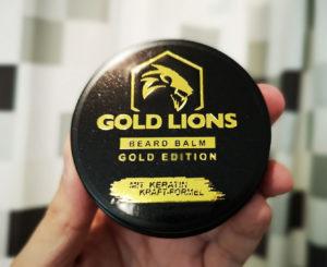 Gold Lions Beard Balm / Bartwachs