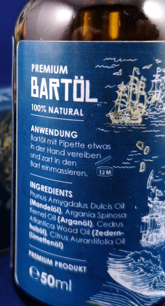 Der Wellenbrecher Hanfsamenöl Bartöl Inhaltsstoffe VollBartVoraus